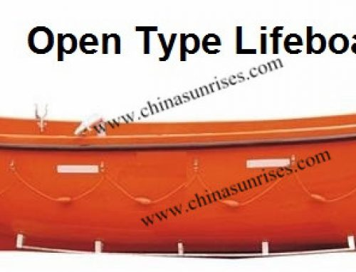 Open Type Lifeboat