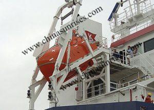 Freefall-Lifeboat-Davit