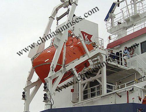 Freefall Lifeboat Davit
