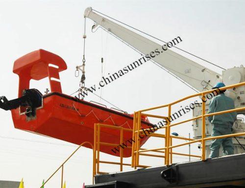 Single Arm Davit for Rescue Boat,Liferaft