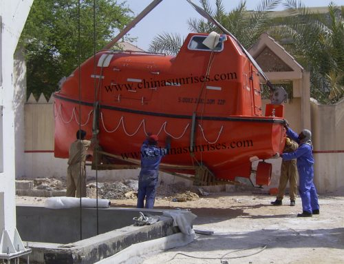 5m Lifeboat with Davit for Training