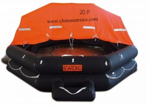 Throw-Over-Board-Inflatable-Liferaft