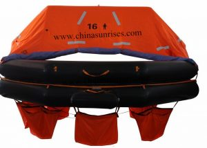 Davit-Launched-Inflatable-Life-Raft