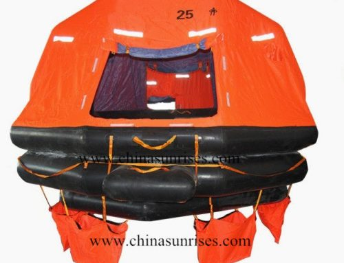 Throw Over Board Self-Righting Inflatable Liferaft