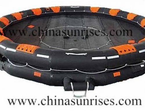 Open Reversible Inflatable Liferaft