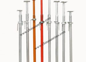 Heavy duty steel shoring props