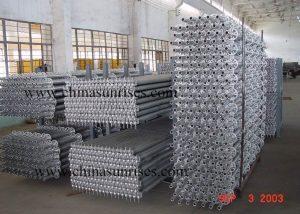 Rosette Lock Steel Scaffold System