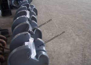 Cast Steel Bar Type Chain Stopper