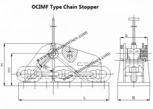 OCIMF Type Chain Stopper