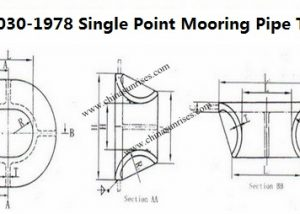 JIS F 2030-1978 Single Point Mooring Pipe Type A
