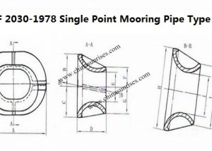 JIS F 2030-1978 Single Point Mooring Pipe Type B