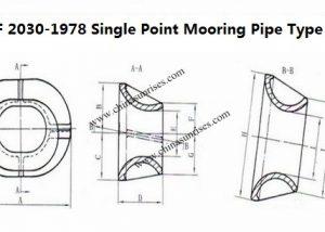 JIS F 2030-1978 Single Point Mooring Pipe Type B