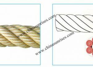 Nylon Single Filament 6-strands Composite Rope