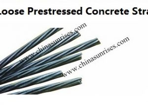 Low Loose Prestressed Concrete Strand