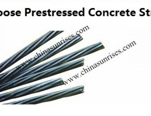 Low Loose Prestressed Concrete Strand