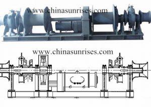 Electric Hydraulic Combined Windlass