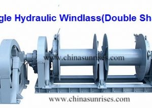 Single Hydraulic Windlass (Double Shaft)