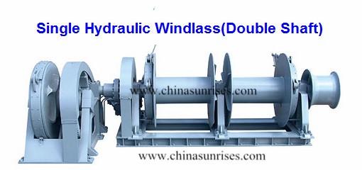Dual Shaft Hydraulic Motor : Single hydraulic windlass double shaft chinasunrises