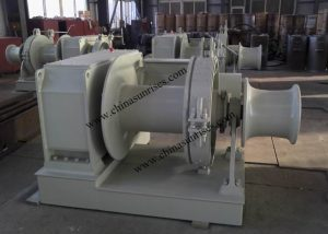 Electric Mooring Winch