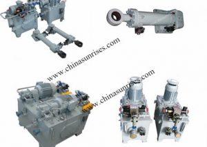 Electro-Hydraulic Piston Type Steering Gear