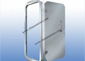 Quick Open & Closing Steel Fire-PR Watertight door A60