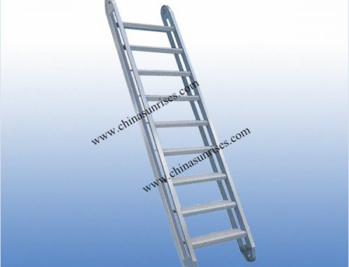 Aluminum Inclined Ladder