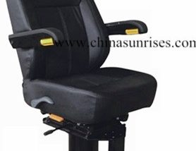 Marine Steel Fixed Pilot Chair