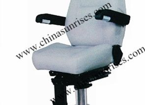 Marine Fixed Pilot Chair with Aluminum Alloy Column