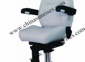 Marine Fixed Pilot Chair with Aluminum Alloy Column