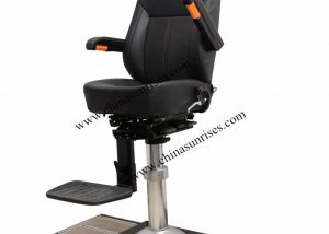 Movable Pilot Chair,Marine Aluminum Alloy Pilot Chair with Rail