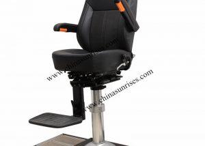 Movable Pilot Chair,Marine Aluminum Alloy Pilot Chair with Rail