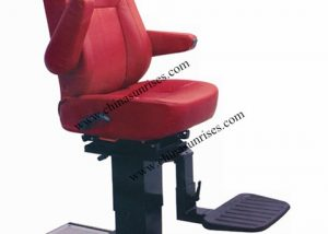 Movable Pilot Chair,Marine Pilot Chair with Square Steel Column