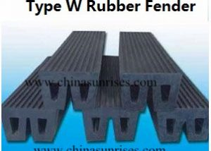 Type W Rubber Fender