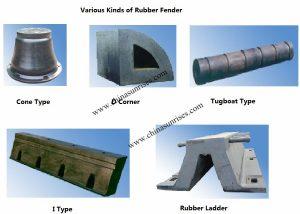 Various Kinds Rubber Fender