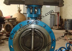 Double Cylinder Hydraulic Butterfly Valve
