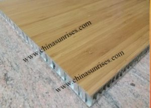 Bamboo Veneer honeycomb alucobond aluminum composite panel