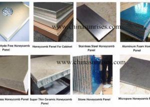 various honeycomb panel