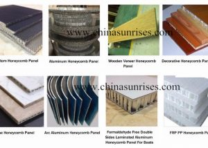 sandwich panel for boat interiors